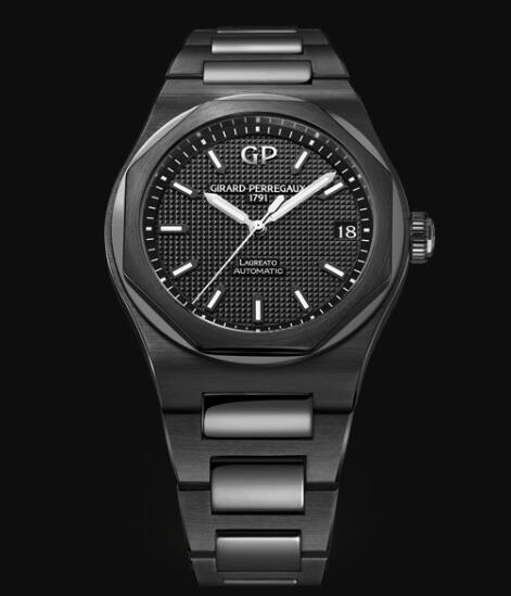 Girard Perregaux Laureato 42 MM CERAMIC 81010-32-631-32a